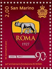 Сан Марино San Marino 2017-90°fondazione dell' AS ROMA