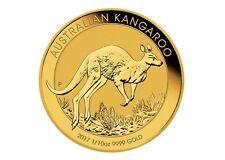 Goldmünze Australian Kangaroo 1/10 oz zehntel Unze Känguru 2017