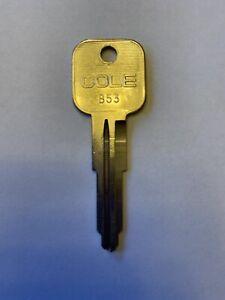 Chevy/Geo/Isuzu B53 Car Key Blank