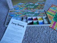 Easy Money Board Game - Vtg 1974 Milton Bradley - complete excellent condition