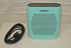 Bose SoundLink Color- Teal Green Bluetooth Speaker- Works.