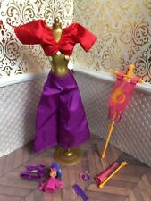 Esmeralda Fashion Notre Dame Festival of Fools Dress Disney Princess Barbie Doll