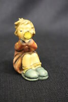 "Vintage 1968 Goebel Hummel GIRL WITH TRUMPET 2.75"" Figurine #391 TMK4 W. Germany"