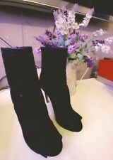 Women's Guess Lace Ankle Boots in Black size35 only tried on once!!