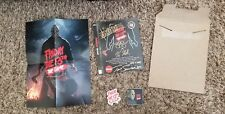 Friday The 13th The Game SIGNED Kickstarter Sleeve Rev.1 #10 Out of 100 - RARE !