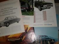 14 UK car adverts 1967