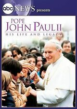 Pope John Paul II His Life His Legacy new dvd abcBill Blakemore fast free ship