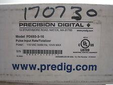 New Precision Digital PD693-3-16 Totalizer PD693316