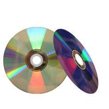 50 16X Shiny Silver Top Blank DVD-R DVDR Disc Media 4.7GB