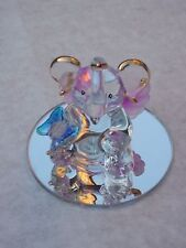 ELEPHANT & BUTTERFLY@Cute@Unique GOOD LUCK~Gift~Mirror Base@Cake Topper@Decorate