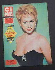 Ciné Télé-Revue n°28 - 1959. Martine CAROL, BRIALY