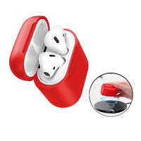 Baseus Qi Wireless Charger Shockproof Protective Charging Case For Apple AirPods