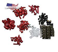 US bodywork Fairing Bolts Red For Honda CBR 600RR 1000RR 125R 250R 300R NSR50