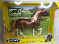 BREYER-Enzo-Mangalarga Marchador Horse-Chestnut Sabino-New In Box