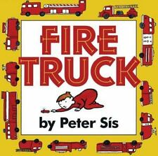 Fire Truck by Peter Sís (1998, Hardcover)