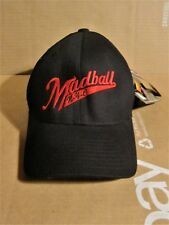 MADBALL BLACK W/RED LETTERING FITTED BASEBALL HAT/CAP UNWORN WITH TAGS NYHC