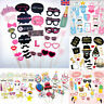 10-76PCS Photo Booth Props Frame Wedding Hen party Birthday Baby Shower Selfie