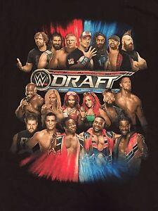 WWE 2016 Draft event T-Shirt XL Worcester MA John Cena New Day Enzo Cass NXT WWF