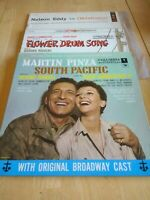 Vintage LPs Lot of 3 Movie Soundtracks Oklahoma, flower drum song, south pacific