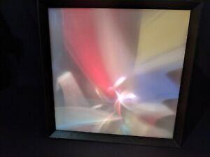 Lumia Lightolier kinetic light sculpture, Earl Reiback, Rare Mid-century modern