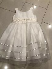 Ivory Flower Girl Bridesmaid Party Occasion Dress 4 Years NEXT