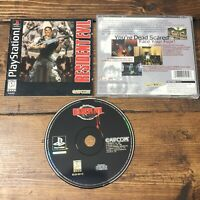 Resident Evil (Sony PlayStation 1, 1996)- Complete-Mint