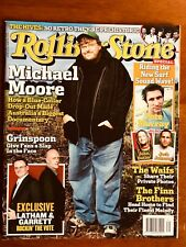 ROLLING STONE MAGAZINE AUSTRALIA OCT 2004 MICHAEL MOORE GRINSPOON THE HIVES!!