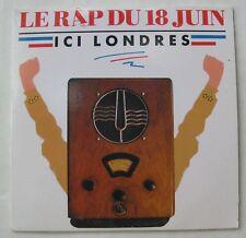 ICI LONDRES (CD Single)  LE RAP DU 18 JUIN
