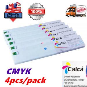 4pcs/pack Calca Compatible 440ml Roland ECO-Sol Max Ink Cartridge