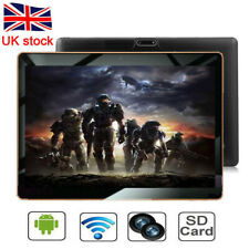 NEW 10.1 Inch Android 8.1 Tablet PC 4+64GB 8 Core HD WIFI Dual SIM Phablet Black