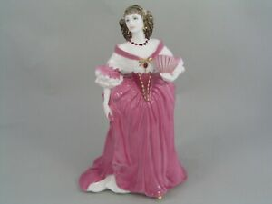 "COALPORT LADY CASTLEMAINE 8 1/2"" FIGURINE, FROM THE FEMMES FATALES COLLECTION"