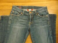 """Lucky Brand Lola Boot Cut Jeans Size 4 / 27 HEMMED 30"""" inseam"""