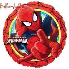 "Spiderman Superhero Marvel Foil Balloon Helium Party Birthday 18"""