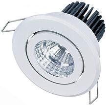 Mains 5W LED Downlight Spotlight Ceiling Recessed Tiltable Ceiling Spotlights