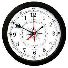 "New Trintec 10"" Atlantic Time & Tide Clock TT-W-02 (White Face)"