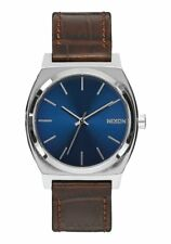*BRAND NEW* NIXON WATCH THE TIME TELLER BROWN GATOR A0451887 NEW IN BOX!