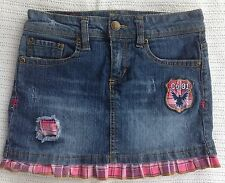 Girls Sz 10 Skirt Denim Blue Jean Company 81
