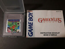 GARGOYLE'S QUEST GAME BOY GB FAH NINTENDO CAPCOM GARGOYLES GAME BOOKLET NOTICE
