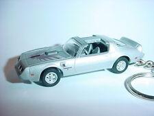 NEW 3D SILVER 1979 PONTIAC TRANS AM CUSTOM KEYCHAIN keyring key KID ROCK T/A 79'