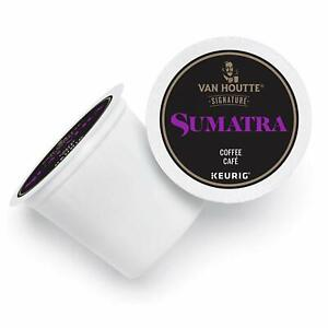 Van Houtte Sumatra Coffee 24 to 144 Keurig Kcups Pick Any Size FREE SHIPPING
