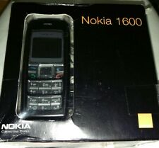 New Original Nokia 1600 Black in Original Box - Unlocked to all Networks