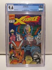 X-Force #1 CGC 9.6 Marvel Comics 08/91 White Pages