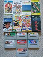 Nintendo Super Famicom SFC/SNES - Mix Game Lot (15)! US SELLER