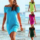 haut long Mini Robe Carmen CHEMISE TAILLE 36 38 40 S M L Tunique plage