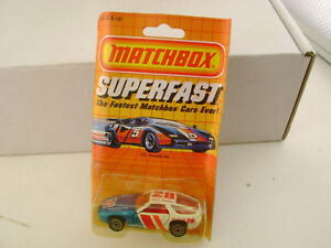 1985 MATCHBOX SUPERFAST #59 SF3 GALE JENKINS PORSCHE 928 NEW ON DAMAGED CARD