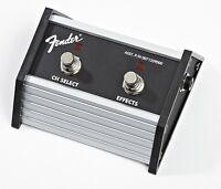 Genuine Fender Footswitch, 2 Button, FM65DSP/ Super Champ XD / Champion