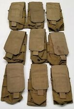 (9) Eagle Industries USMC FSBE Double Rifle Magazine Pouch 1x2 Coyote MOLLE NSN