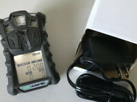 MSA Altair 4X Multi 4 Gas Monitor detector, O2,H2S,CO,LEL calibrated W/ Charger