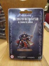 Warhammer 40K Deathwatch Watch Captain in Terminator Arm(39-23) Sealed Free Ship