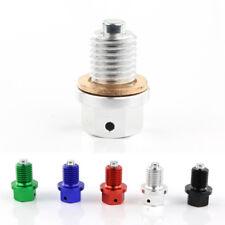 CNC Magnetic Oil Drain Plug Bolt For Honda CR 125R 250R 60R 80R 85R 85RII Silver